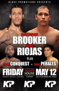 Christopher Brooker vs. Oscar Riojas