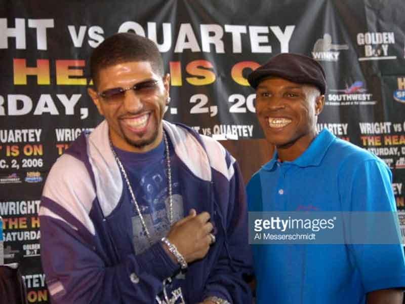 Ike Quartey and Winky Wright