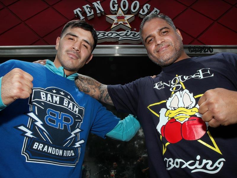 Brandon Rios & Ricky Funez