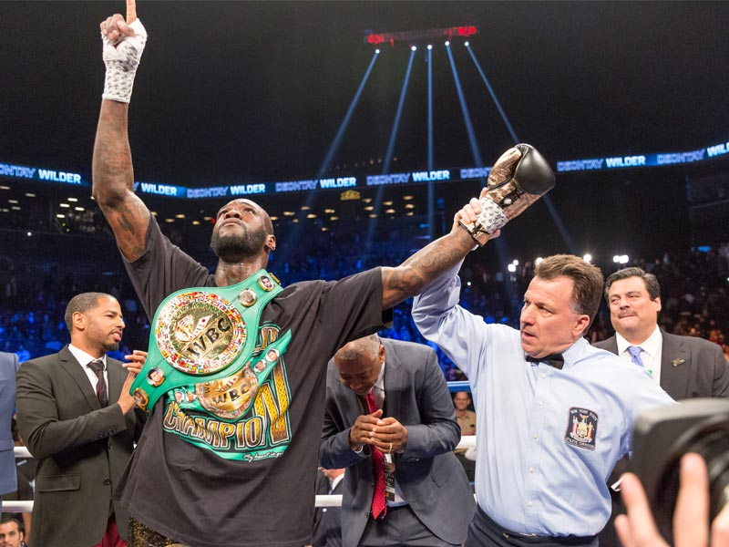 Deontay Wilder Victorious