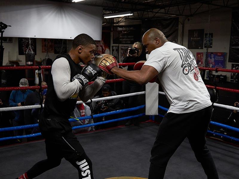 Errol Spence Jr. Training