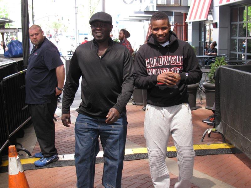 Kwame Asante and Fredrick Lawson