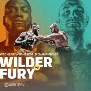 Wilder-Fury Poster